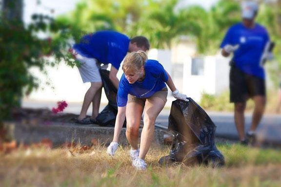 Earth Day Clean Up Grand Cayman
