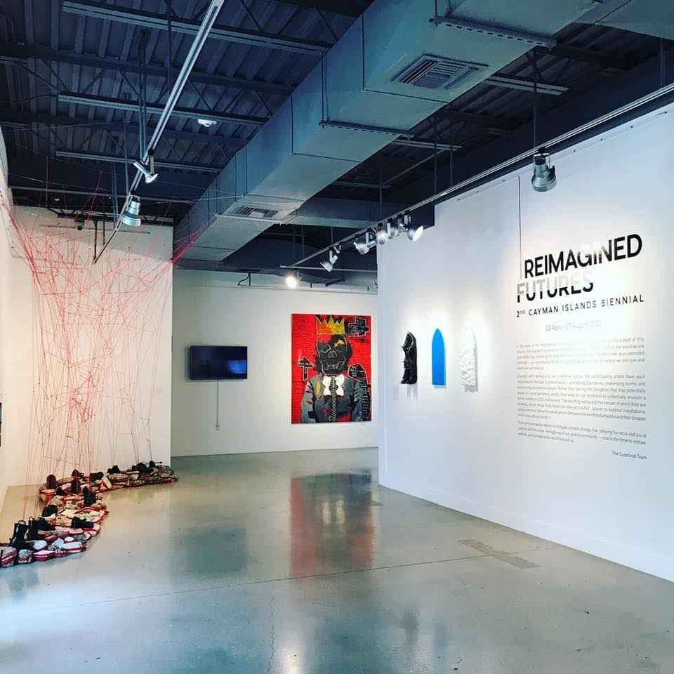 Biennial Artists Talk, National Gallery of the Cayman Islands