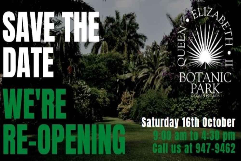 Reopening: QEII Botanic Park