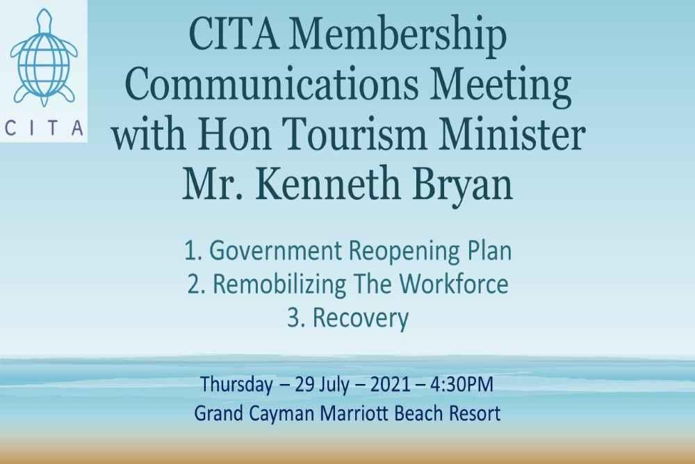 CITA Communications Meeting, Hon. Mr Kenneth Bryan