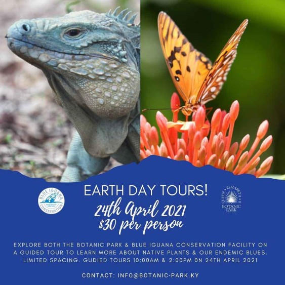Earth Day Tours, QEII Botanic Park